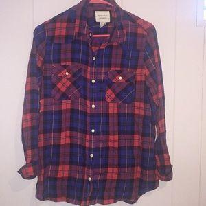 Forever 21 plaid shirt medium